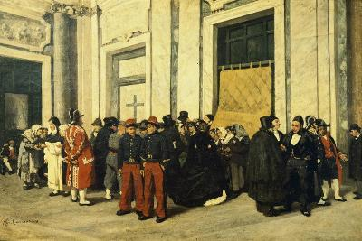 Entrance Hall of Santa Maria Maggiore, Ca 1865