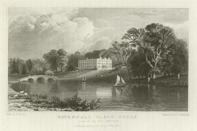 Rivenhall Place, Essex, Seat of the Reverend J Western