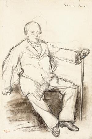 Jules Perrot, Study for the Dancer Perrot, Sitting, C.1880