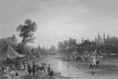 The River Barrada, the Ancient Pharpar, a River of Damascus