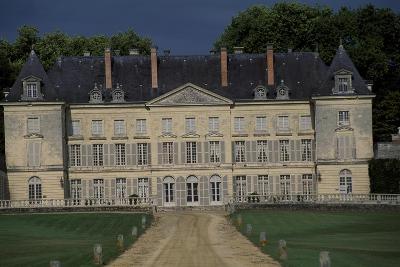 Facade of Chateau De Montgeoffroy, 1772-1776