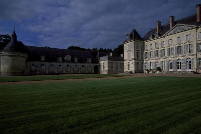View of Chateau De Montgeoffroy, 1772-1776