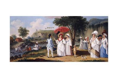 Mulatto Women on the Banks of the River Roseau, Dominica