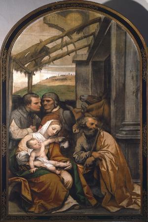Nativity or Adoration of Shepherds