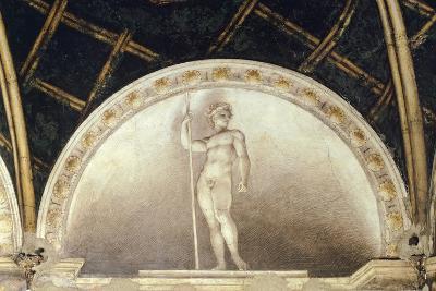 Lunette Representing Adonis