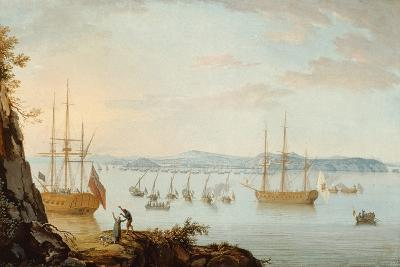 Bourbon Fleet Returns Victorious to Naples, 1800