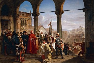 Dedication of Trieste to Austria