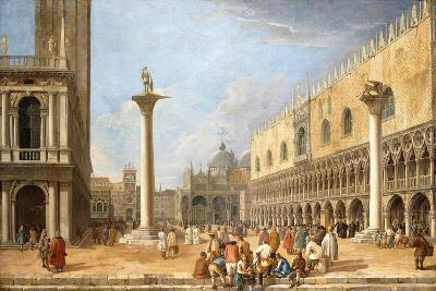 The Piazzetta, Venice, Looking Towards the Piazza San Marco