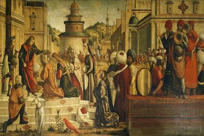 St. George Baptizing Gentiles
