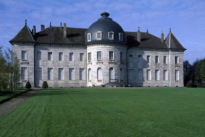 Facade of Chateau De Moncley, 1778-1790