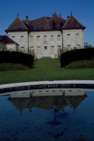 View of Chateau De Moncley, 1778-1790