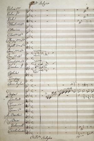 Autograph Sheet Music of the Masses, 1869