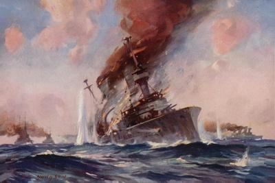 The Battle of the Falklands: the Sinking of the Scharnhorst