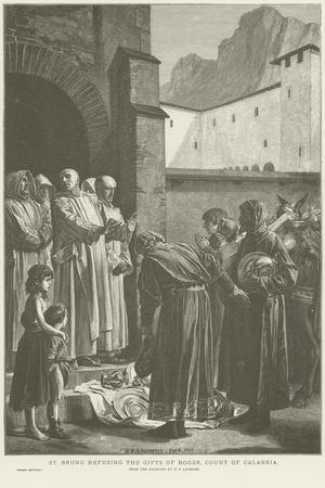 St Bruno Refusing the Gifts of the Count of Calabria