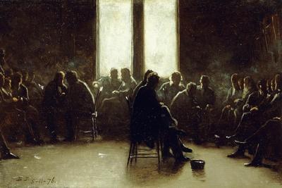 Study for the Nantucket School of Philosophy, 1876