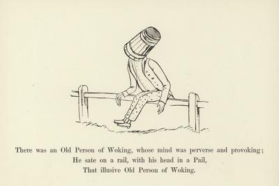 There Was an Old Person of Woking, Whose Mind Was Perverse and Provoking