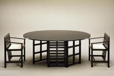 Table and Chairs, 1903-1905