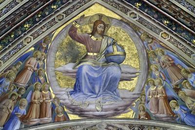 Christ the Judge Amongst Angels, 1447