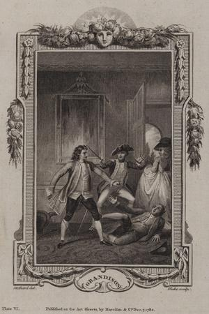 Scene from the History of Sir Charles Grandison