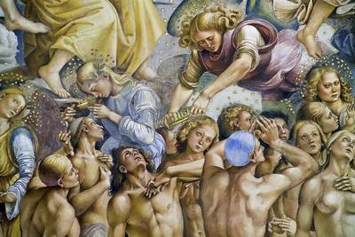 Elect, from Last Judgment Fresco Cycle, 1499-1504