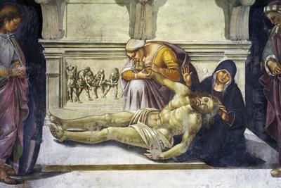 Lamentation over Dead Christ, 1499-1504