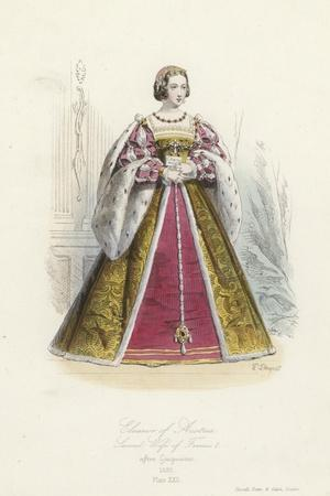 Eleanor of Austria, Second Wife of Francis I of France
