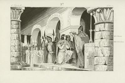Coronation of Louis III and Carloman as Kings of West Francia, 879