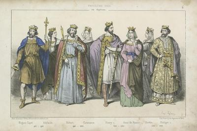 French Kings and Queens of the 10Th, 11th and 12th Century