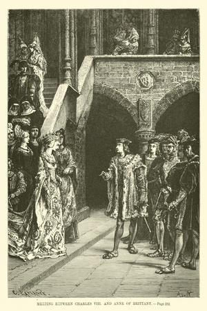 Meeting Between Charles VIII and Anne of Brittany