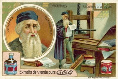 Johannes Gutenberg - Inventor of the Printing Press