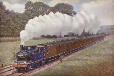 Great Eastern Railway Southend Train Near Brentwood, Essex