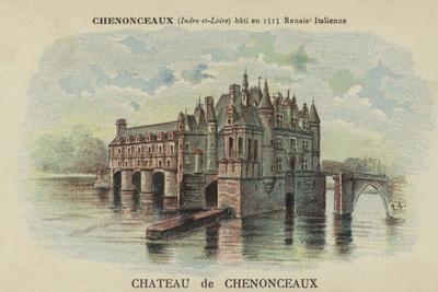 Chateau De Chenonceaux, Chenonceaux, Indre-Et-Loire