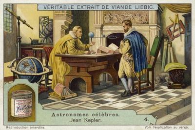 Johannes Kepler, German Mathematician and Astronomer