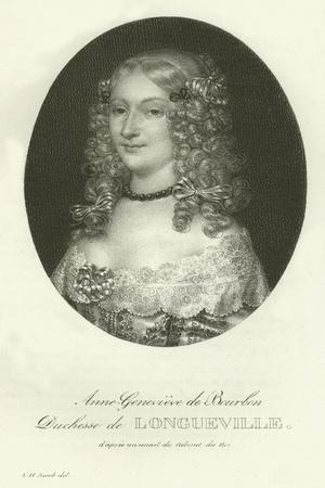 Anne-Genevieve De Bourbon, Duchesse De Longueville