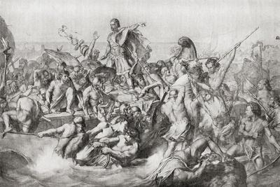 Julius Caesar's First Invasion of Britain in 55 BC