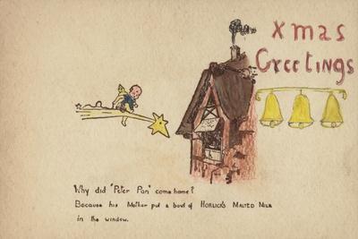 Christmas Greetings: Advertisement for Horlick's Malted Milk