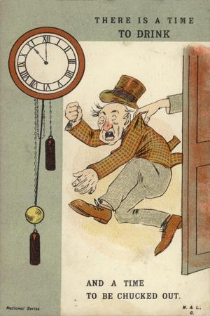 There Is a Time to Drink and a Time to Be Chucked Out