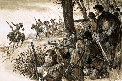 Irish Rebels under the Command of Gerald, Fourteenth Earl of Desmond