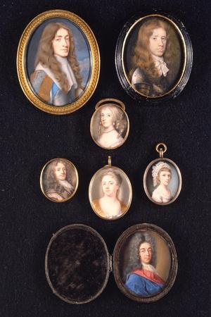 Miniatures from Ltor and Ttob: James, Duke of York, 1661