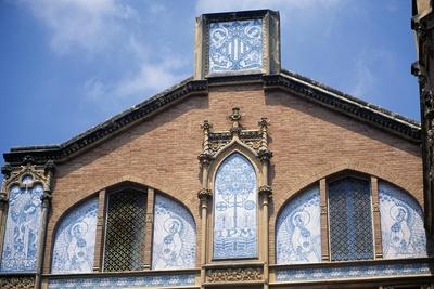 Two-Tone Decorations with Religious Scenes, Institute Pere Mata