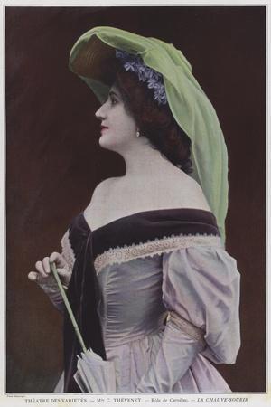 Mademoiselle Thevenet as Caroline in La Chauve-Souris
