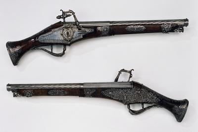 Pair of Wheellock Pistols, 1639, Made for Louis XIII of France