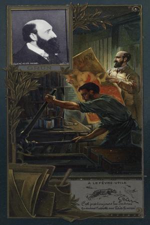 Jules Grun, French Illustrator, Poster Designer and Painter