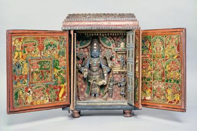 Portable Shrine of Vishnu, Tirupati, South India, C.1900