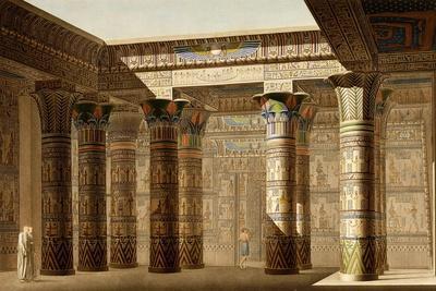 Portico of the Grand Temple of Philae, Nubia, C.1809-1812