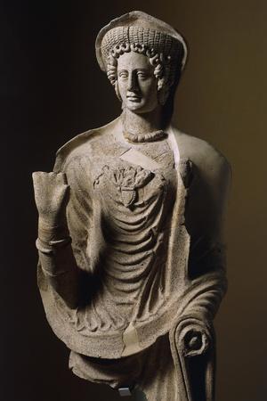 Female Statue in Terracotta from Lavinio, Lazio, Italy, Latin