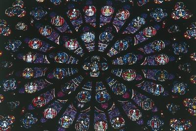 Christ of the Apocalypse, Rose Window, Notre-Dame Cathedral