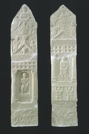 Votive Stele with Reliefs Containing Elements of Berber, Punic
