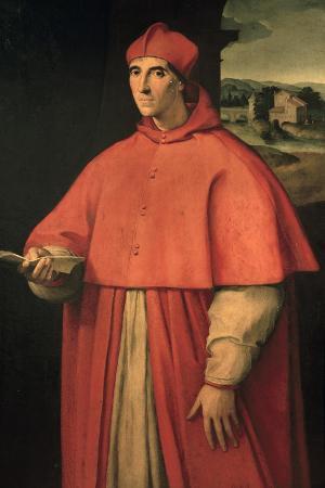 Portrait of Cardinal Alessandro Farnese, Future Pope Paul III