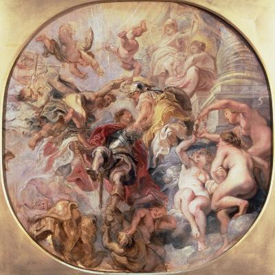 Minerva and Mercury Conduct the Duke of Buckingham